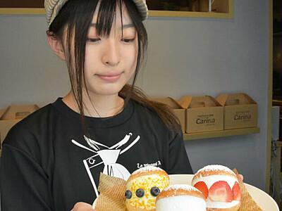 あっさり味の生クリームたっぷり 長野に「マリトッツォ」専門店