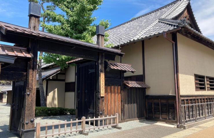 松代藩の藩校だった旧文武学校