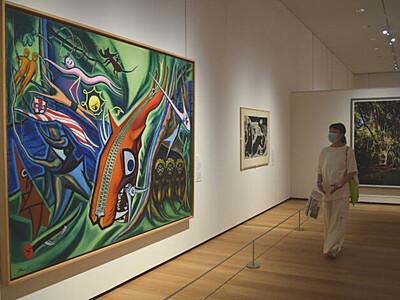 長野県立美術館で名品鑑賞を グランドオープン記念展開幕
