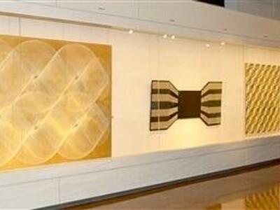視覚超えた作品触れて 現代美術作家、八田豊さん企画展 越前市武生公会堂記念館