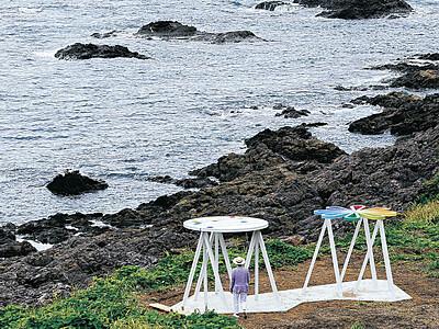 珠洲の豊かさアートで 奥能登国際芸術祭 4日開幕 国内外53組 市内全域に彩り