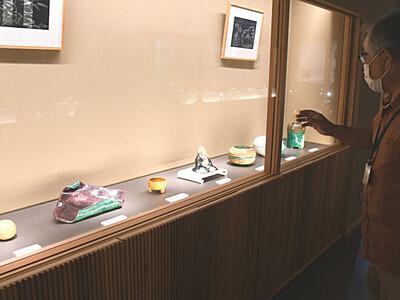 野沢温泉村が陶磁器ギャラリー 地元開業医の貴重なコレクション