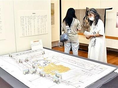 勝山城下の災害、祭礼に焦点 絵図など60点展示 福井