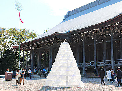 工芸と建築空間融合 高岡の勝興寺で10日から祭典