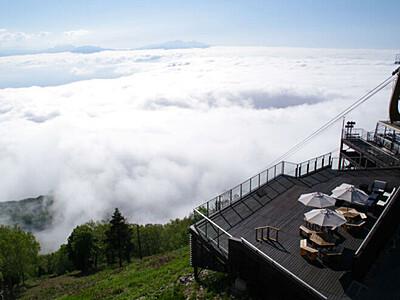 標高1770メートルでナイトシネマ 22日に山ノ内「ソラテラス」