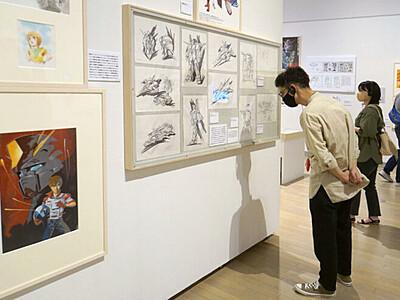ガンダム生みの親 富野由悠季の世界展 新潟 新津美術館