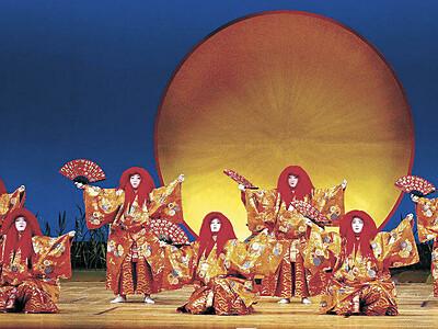 2年ぶり花街の宴 金沢おどり幕開け 県立音楽堂 「七人猩々(しょうじょう)」勇壮に