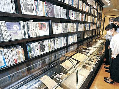 「五木寛之文庫」を刷新 1日から金沢文芸館 原稿、本紙など新規213点 金沢時代に焦点