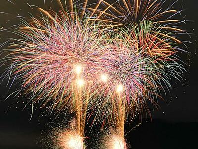 「諏訪湖オータム花火」 週末中心に計12日間
