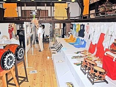 放生祭の小道具、衣装を300点紹介 小浜で8日から