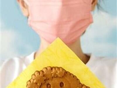 たけふ菊人形のマスコット「きくりん」ワッフルいかが 越前市のスイーツ店考案 米粉使用でもっちり食感