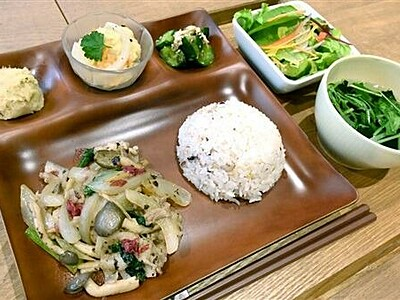 鷹巣梅、ランチで味わって 福井市で栽培、ブランド化へ「喜ね舎」で提供