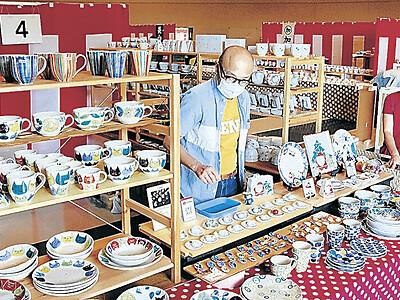 能美 九谷茶碗まつり、16日開幕