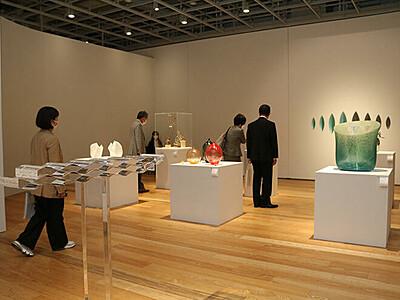 表現の可能性追求 ガラス造形研30年記念展