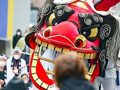 ながの獅子舞フェスティバル開催