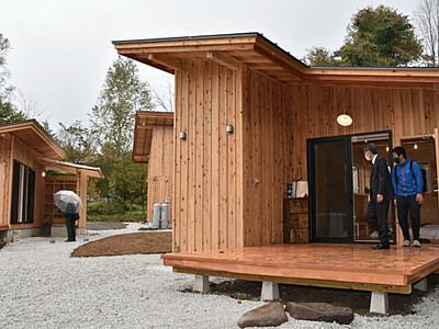宿泊もキャンプも...原村で楽しんで 1棟貸しの施設群開業へ