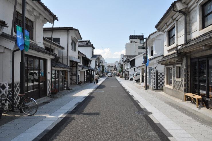 長野県 中町通り 北陸新幹線で...