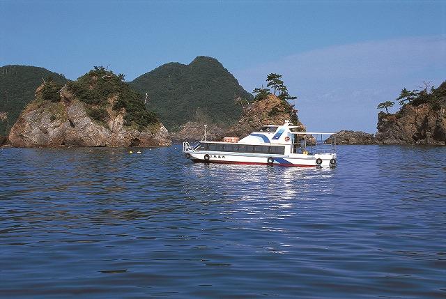 三方海中公園 グラスボート
