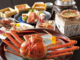 レイクサイド北潟湖畔荘 食事一例