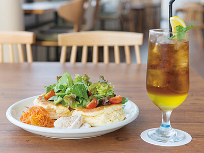 cafe Lily カフェリリー(春江町)ゆりの里公園内にカフェレストランがオープン