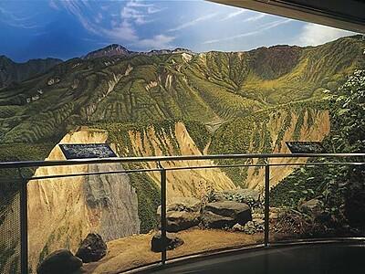 富山県立山カルデラ砂防博物館
