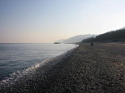 宮崎・境海岸(ヒスイ海岸)