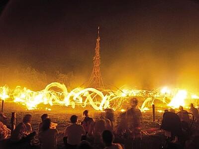 能登島向田の火祭