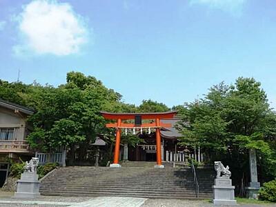 新田義貞公之大宮 藤島神社