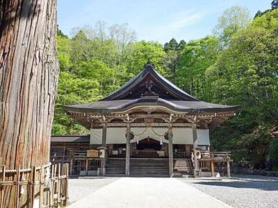 戸隠神社中社