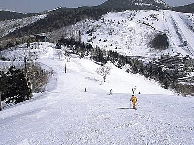 志賀高原横手山・熊の湯スキー場